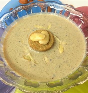 Crunchy Almond Payasam