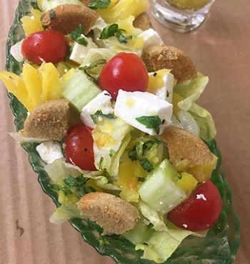 Crunchy Paneer Pineapple Salad