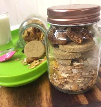 Mini Granola Jar